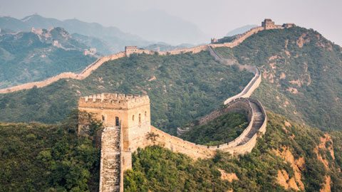 Glimpse a Rare Aerial View of the Great Wall of China