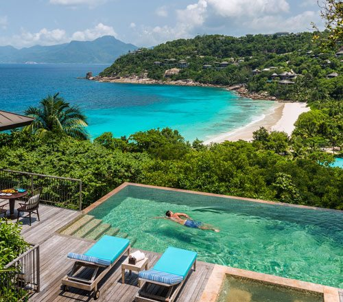 Seychelles private pool