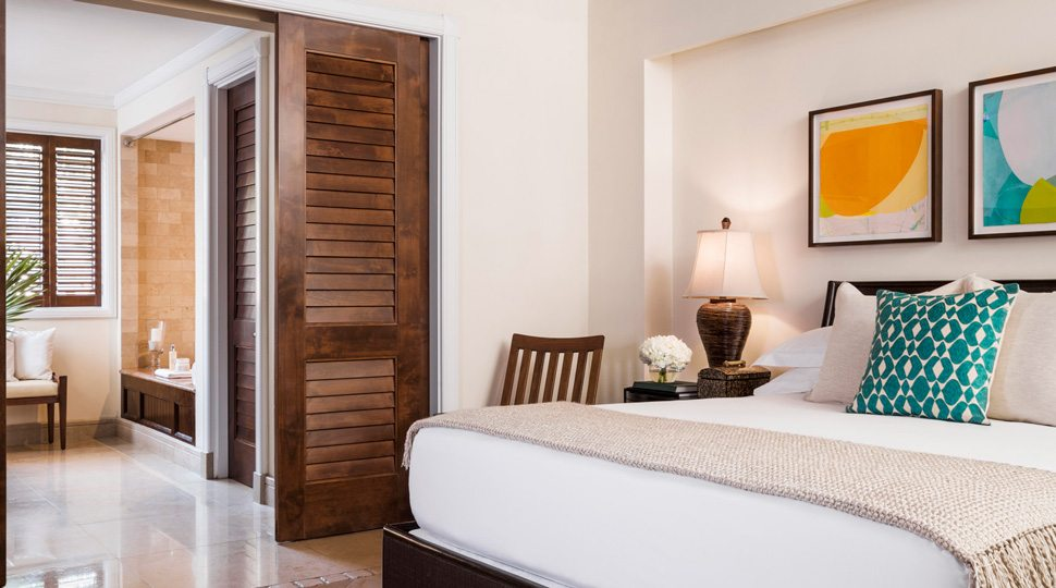 Ocean Club villa bedroom