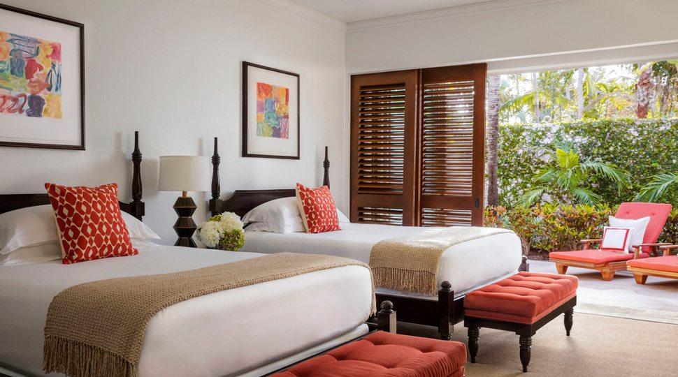 Ocean Club villa bedroom