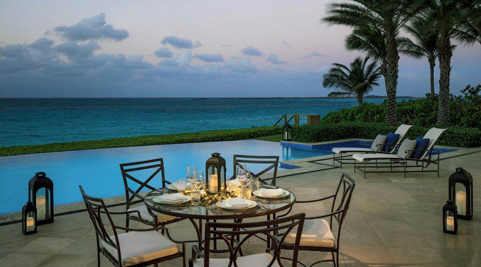 Ocean Club villa pool