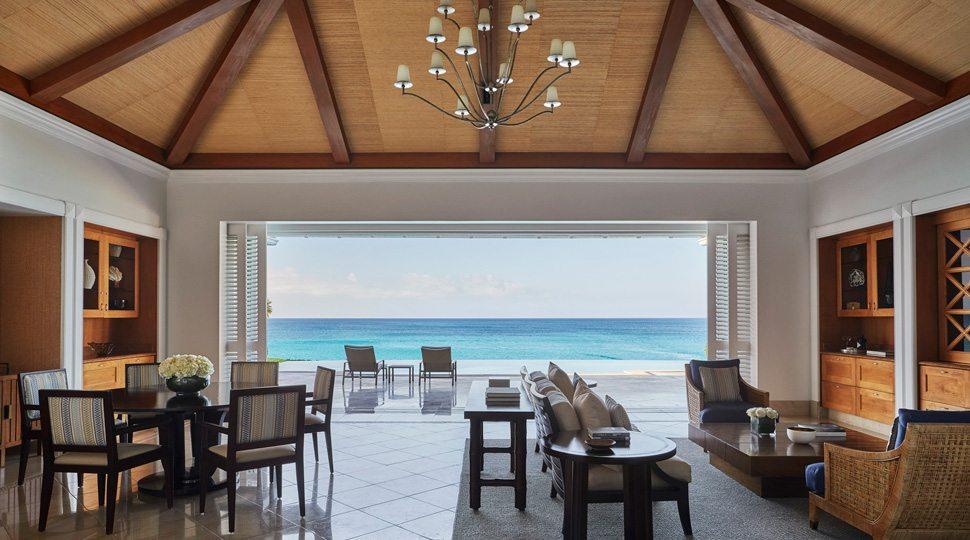 Ocean Club villa living room