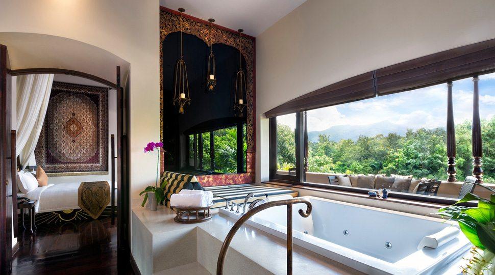 Chiang Mai villa bathroom