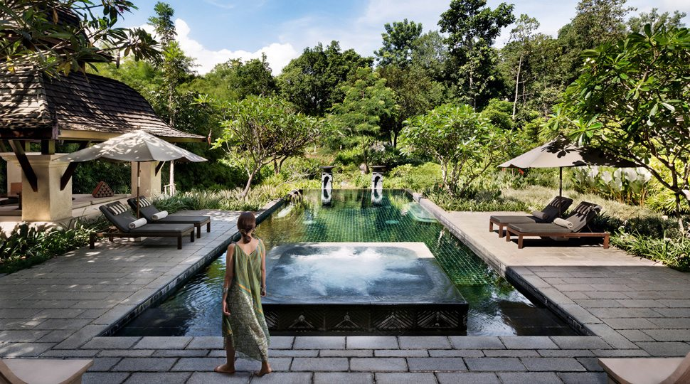 Chiang Mai villa pool