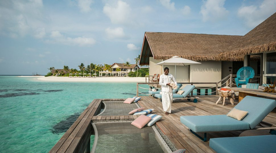 Maldives Private Island villa pool