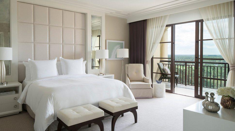 Grand Suite bedroom in Orlando