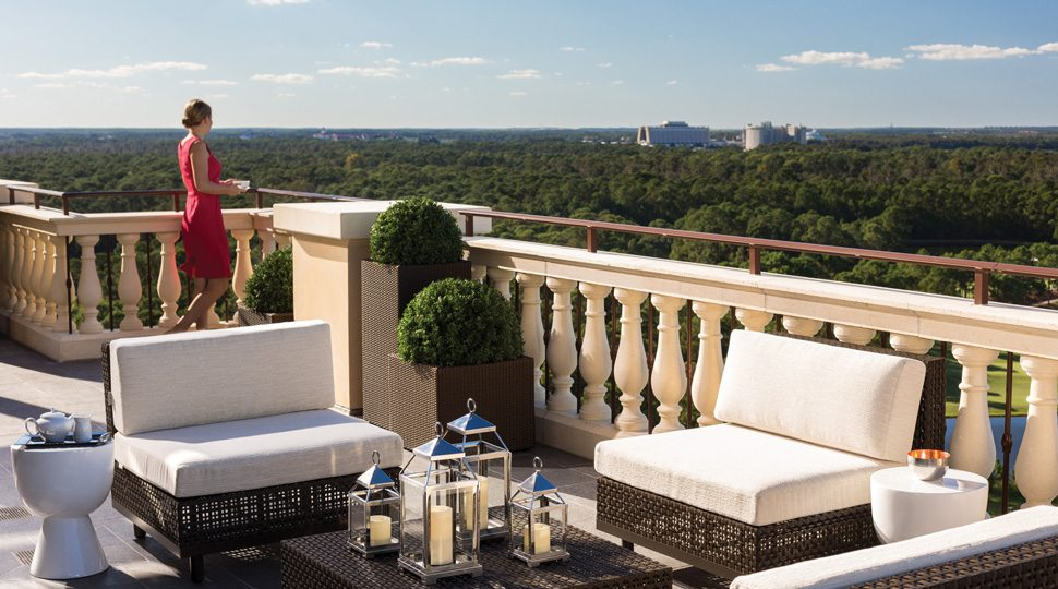 Royal Suite Terrace in Orlando