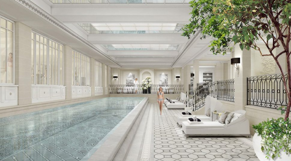 Spa pool at George V