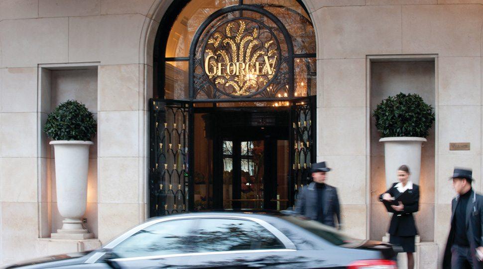 George V entrance