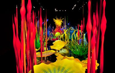 Get inspired by acclaimed glass artist Dale Chihuly with a VIP experience