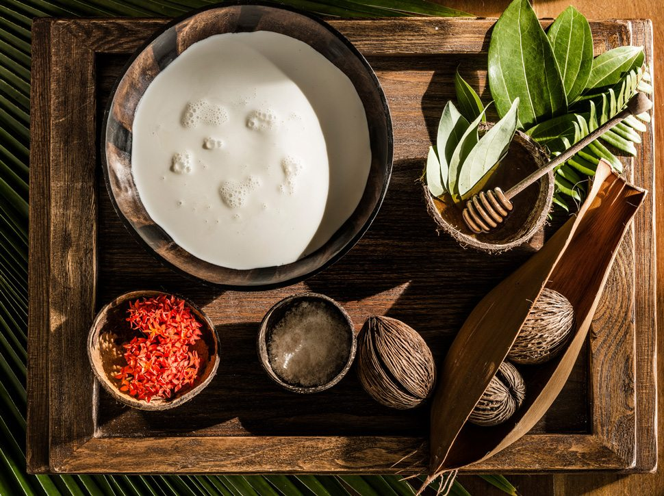 Coconut body scrub ingredients
