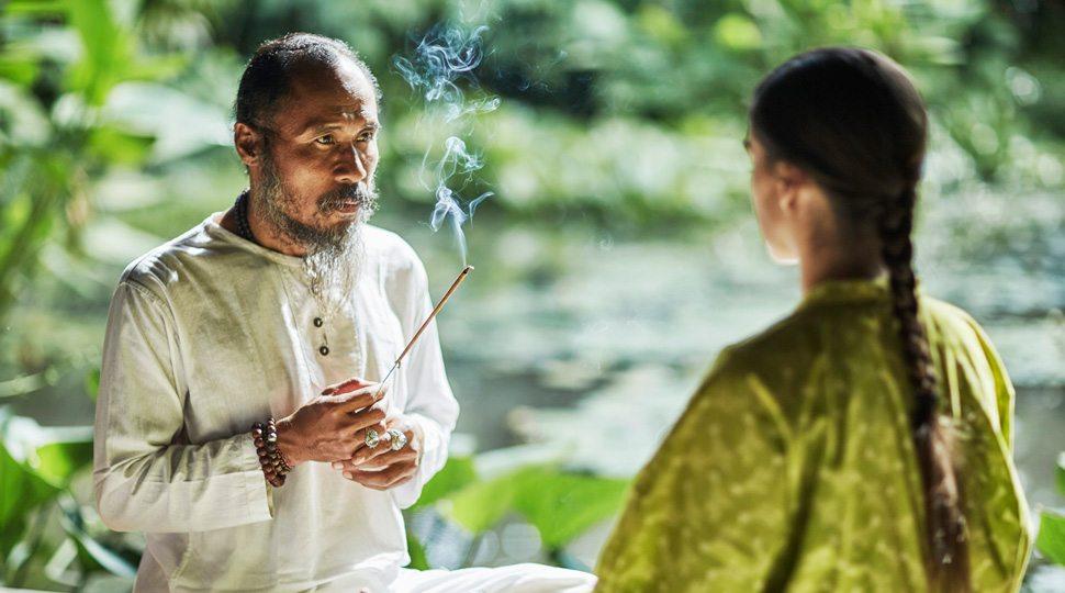 A healer in Bali