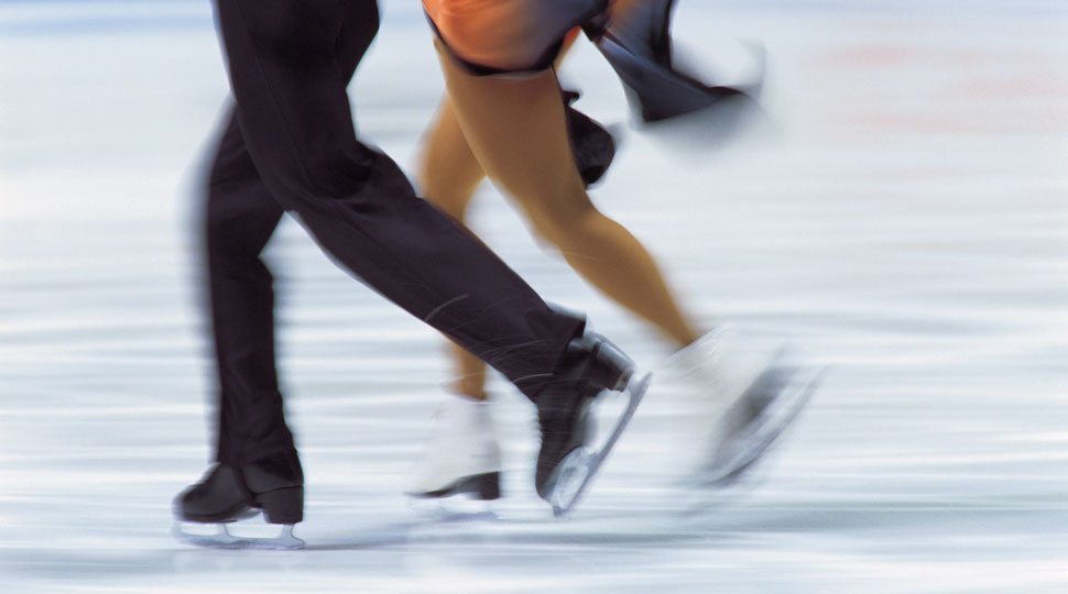 Figure-skating in Moscow