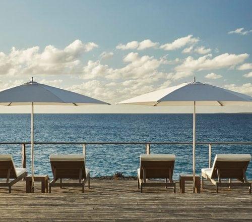 Anguilla pool deck