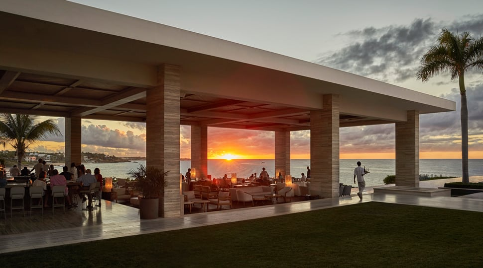 Sunset Lounge in Anguilla