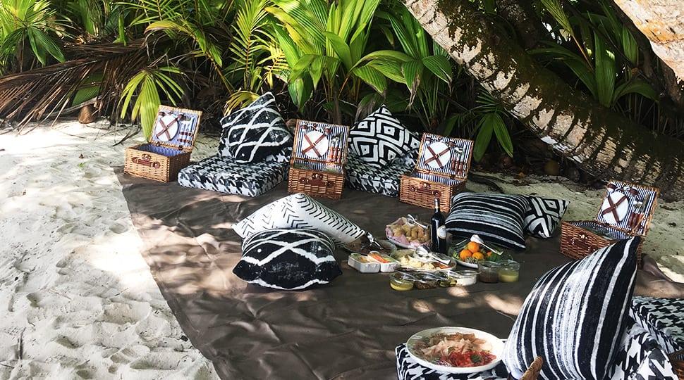 Seychelles picnic