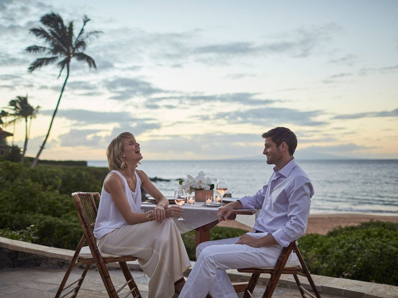 Couple in Maui