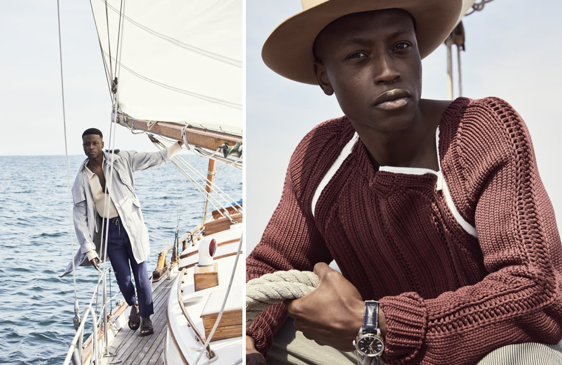 Mens nautical fashion
