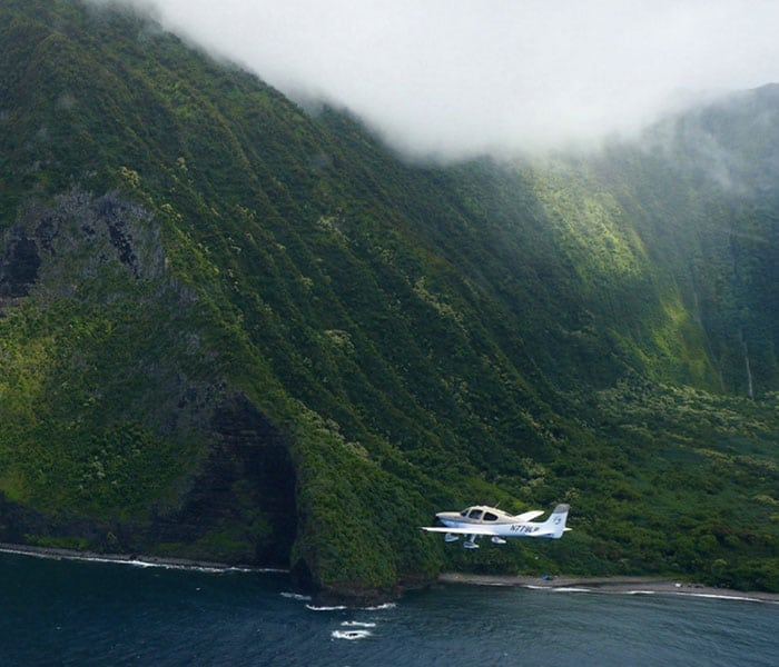 Plane in Hawaii