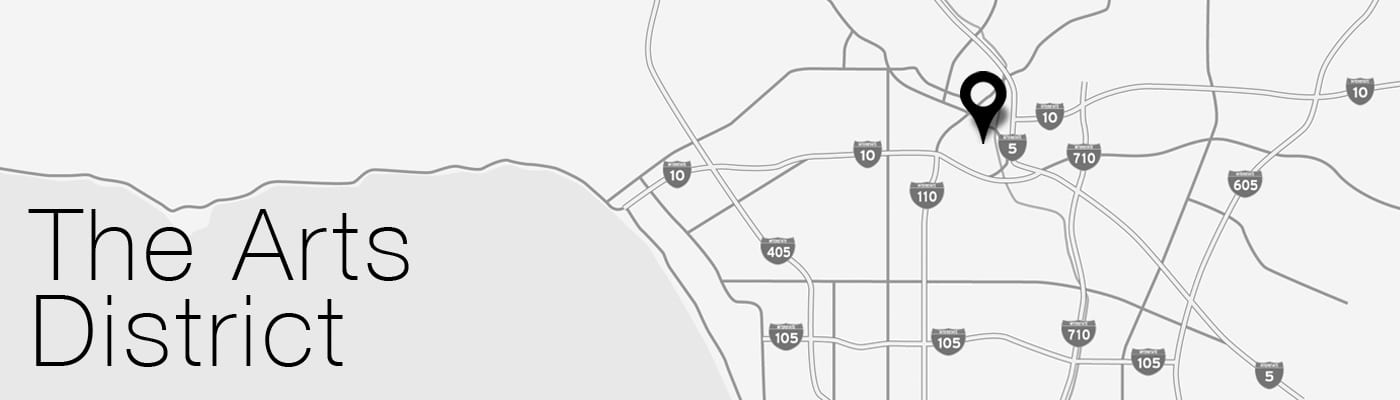 Arts District LA Map