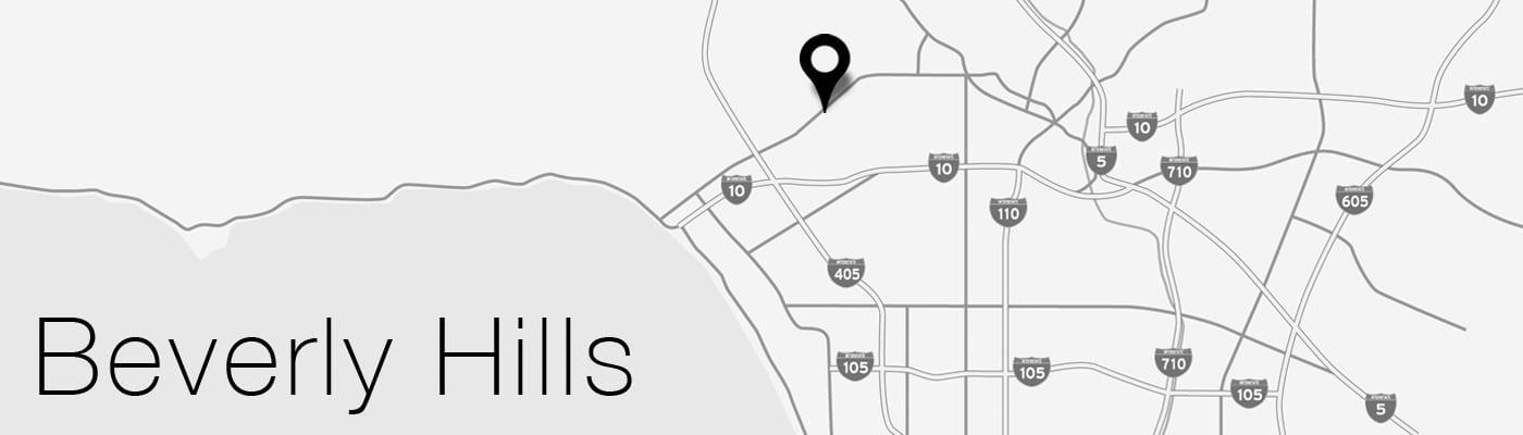 Beverly Hills LA Map