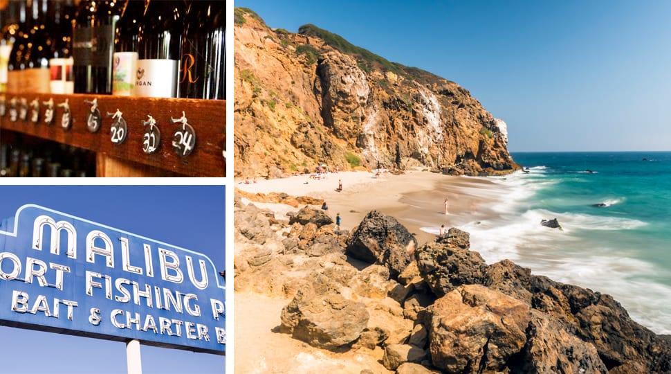 Scenes from Malibu, CA