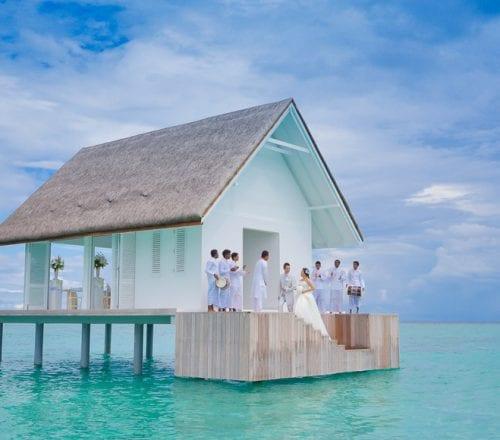Four Seasons weddings Maldives