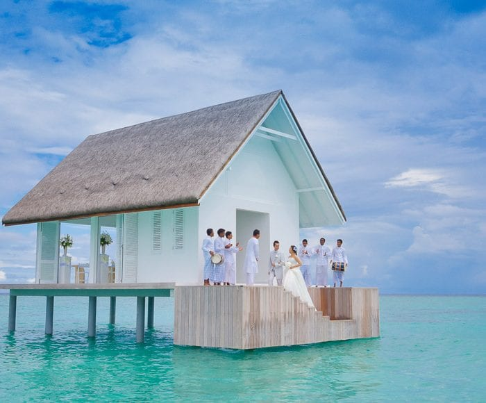 Four Seasons weddings Maldives