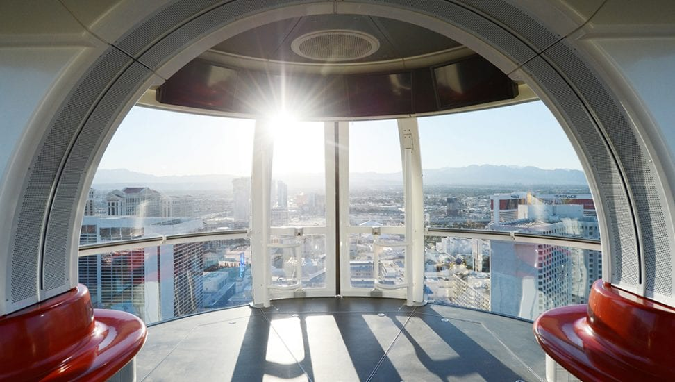 High Roller Observation Wheel pod