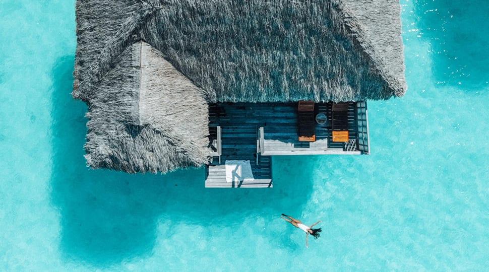 Overwater bungalow FS Bora Bora