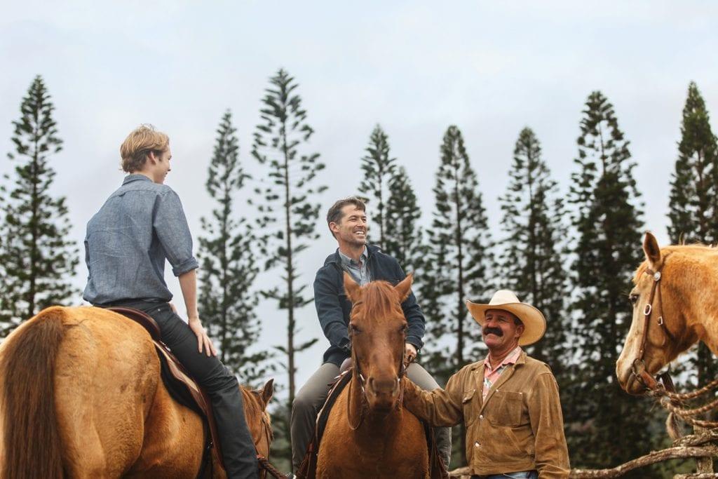 Horseback riding at FS Lanai