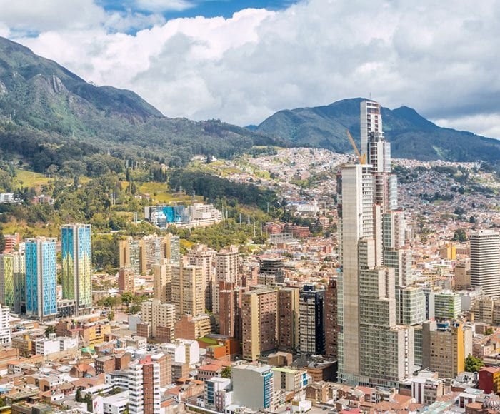 Bogota skyline