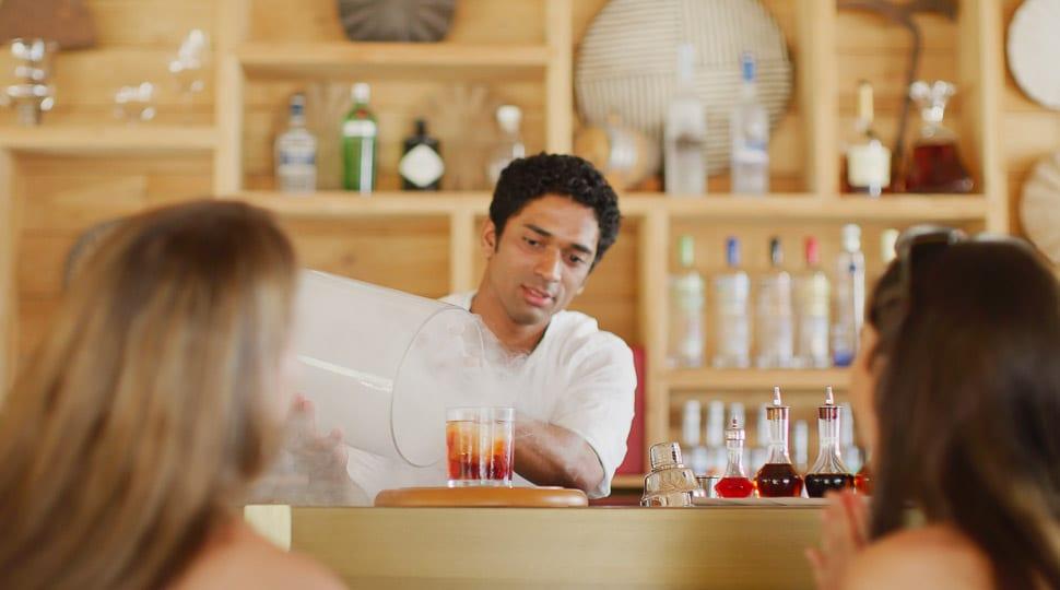 Seychelles bartender