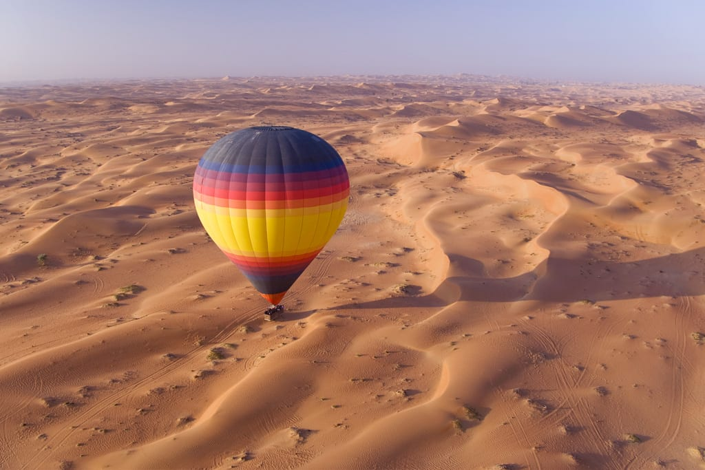 Hot-air balloon Dubai