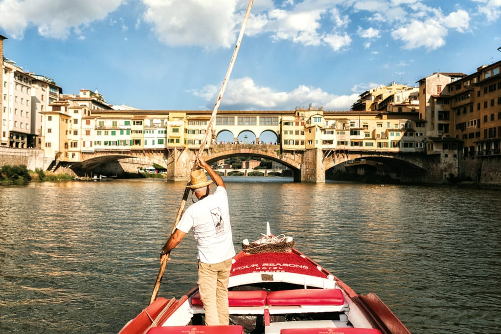 rowboat ride Firenze