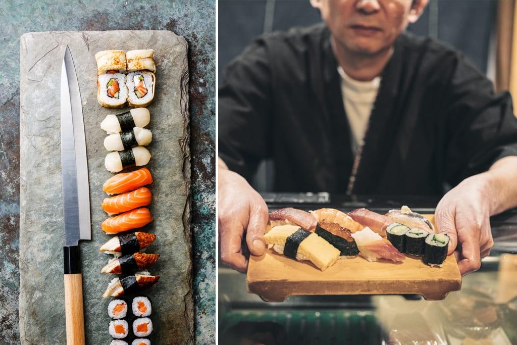 Sushi chef Tokyo