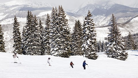 Private ski tour in Vail