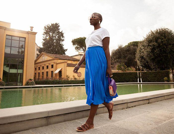 Globetrotter Jessica Nabongo in Florence