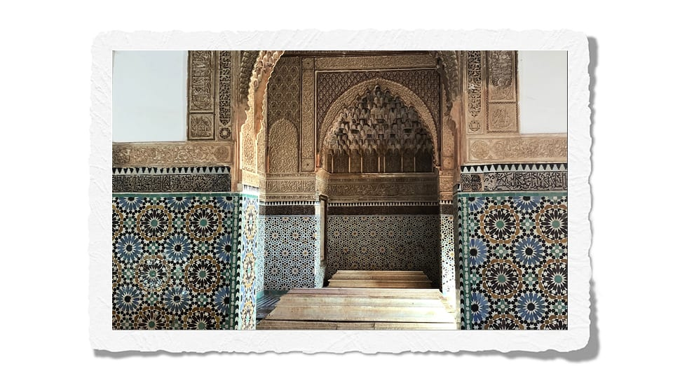 Morocco tombs