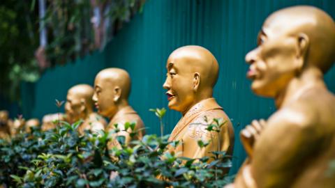 10,000 Buddha's Monastery