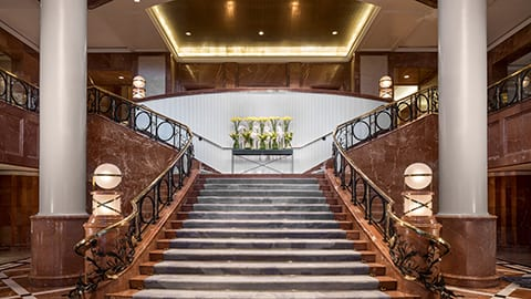 Hotel's staircase