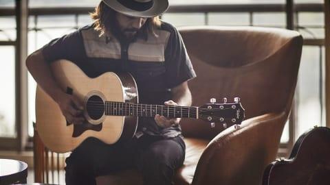 Live guitar music