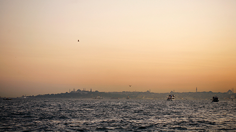 Sailing on the Bosphorus