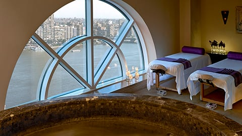 Spa Overlooking the Nile
