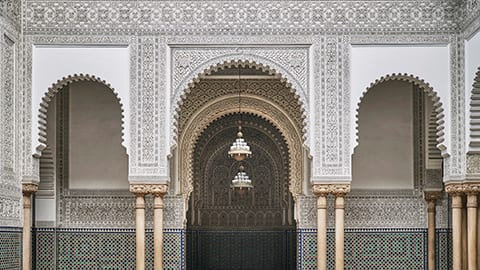 Architectural Detail in Casablanca