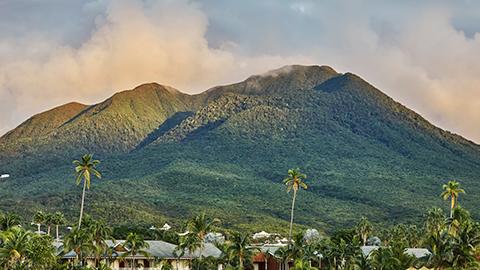 Montserrat's Soufrière Hills volcano