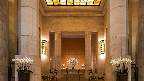 Grand Lobby of Four Seasons New York