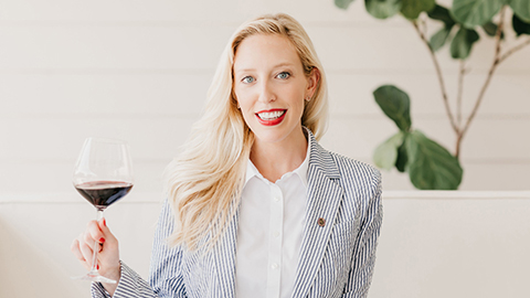 Meet our Certified Wine and Water Sommelier