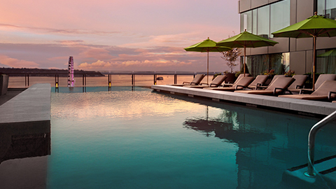 INFINITY pool + bar
