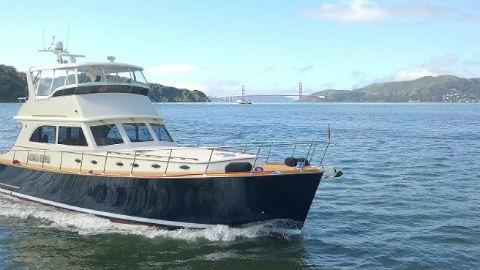 Private cruise in San Francisco